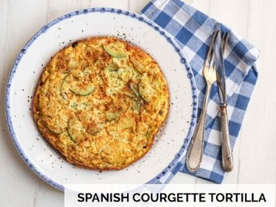 spanish courgette tortilla