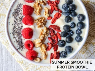 Summer Smoothie Protein Bowl