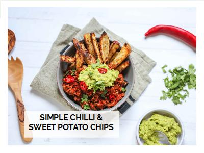 Chilli Sweet Potato Chips